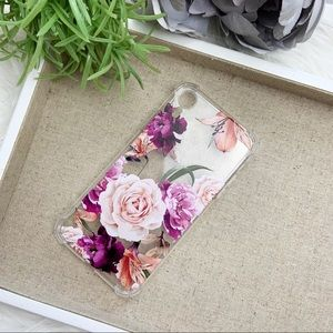 Accessories - New! IPhone XR Floral Silicone Case